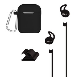 AT&T APCKIT-BLK AirPods Case and Accessories Kit (Black)