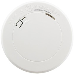 First Alert 1039772 Battery-Powered Photoelectric Smoke Alarm