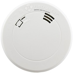 First Alert 1039787 Smoke & Carbon Monoxide Alarm with Voice & Location