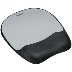Fellowes 9175801 Memory Foam Mouse Pad with Wrist Rest