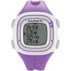 GARMIN 010-N1039-17 Refurbished Forerunner(R) 10, Violet/White