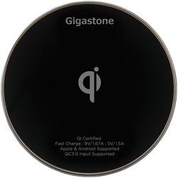Gigastone GS-GA-9600B-R GA-9600 Qi-Certified Fast Wireless Charger (Black)