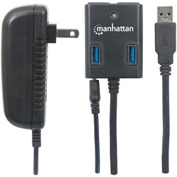 Manhattan 162302 SuperSpeed USB 3.0 Hub
