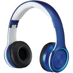 iLive IAHB239BU Bluetooth Over-the-Ear Headphones with Microphone (Blue)