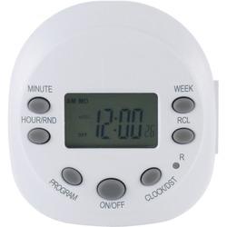 GE 15154 Indoor Plug-in 7-Day Programmable Digital Timer