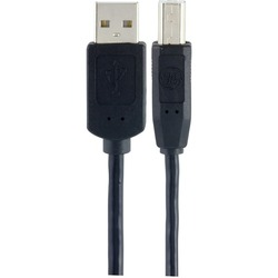 GE 34501 USB-A to USB-B Cable, 3ft
