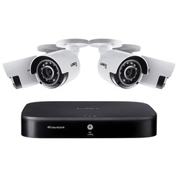 Category: Dropship Safety Equipment, SKU #LORDK18148CA, Title: Lorex DK181-48CA 4K Ultra HD Analog 8-Channel Security System with DVR and 4K Ultra HD Bullet Security Cameras (1 TB DVR, 4 Cameras)