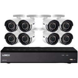 Category: Dropship Observation & Security, SKU #LORLHA21081LC8, Title: Lorex LHA21081TC8LC 1080p HD Security Camera System with 1 Terabyte 8-Channel DVR and Eight 1080p Bullet Cameras
