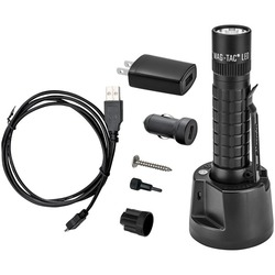 MAGLITE TRM1RE4 671-Lumen LED MAGTAC Rechargeable Flashlight (Plain Bezel)