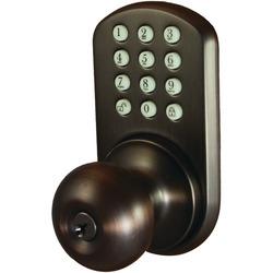 MiLocks HKK-01OB Touchpad Electronic Doorknob (Oil Rubbed Bronze)