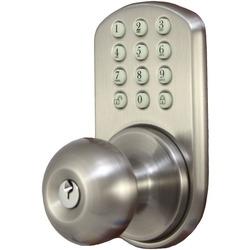 MiLocks HKK-01SN Touchpad Electronic Doorknob (Satin Nickel)