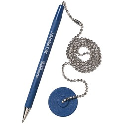 MMF Industries(TM) 28908 Counter Pen & Base (Blue Ink)
