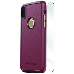 SaharaCase D-A-IX-PL dBulk Series Protective Kit for iPhone(R) X (Plum)