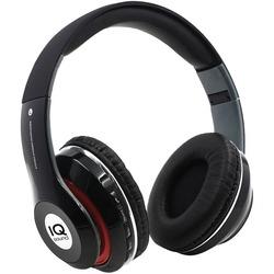 IQ Sound IQ-130BT- BLK Bluetooth Over-Ear Headphones with Microphone (Black)