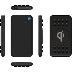 Supersonic SC-6005QIPB Qi Wireless Charging Box with Suction Cups and USB Output