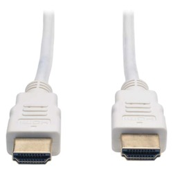 Tripp Lite P568-003-WH High-Speed HDMI Cable (3ft, White)