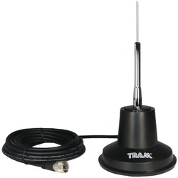 Tram TRAM 3500 CB Antenna 5-Inch Magnet Kit with RG8X Coax and Rubber Boot
