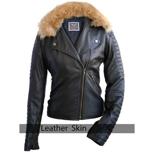Black Womens Leather Jacket