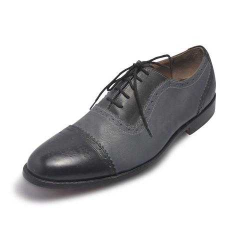 Men Black Leather Shoes