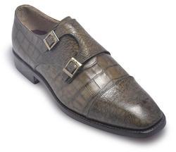 Men Alligator Pattern Leather Shoes