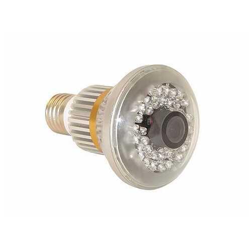 Cashier Security Bulb Shape CCTV Surveillance Camera w/ Motion Detect