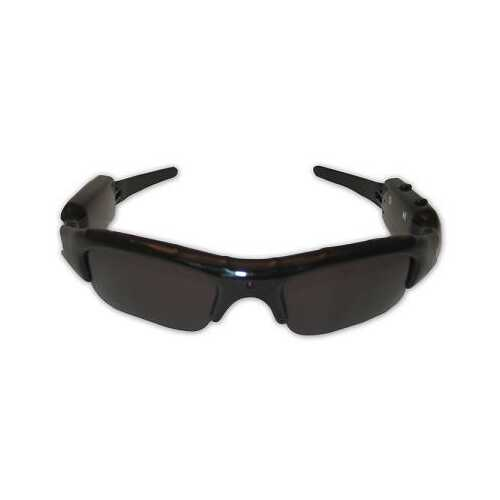AVI Format Sunglasses Video Recorder w/ 60 Degrees Viewing Angle