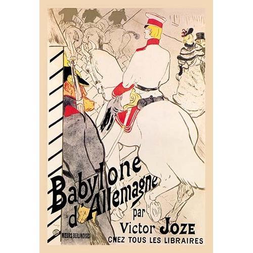 Babylone d'Allemagne (German Babylon) (Paper Poster)