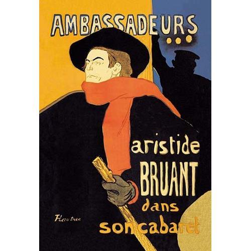 Ambassadeurs: Aristide Bruant dans Son Cabaret (Paper Poster)
