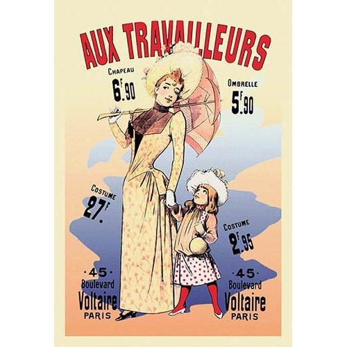 Aux Travailleurs (Paper Poster)