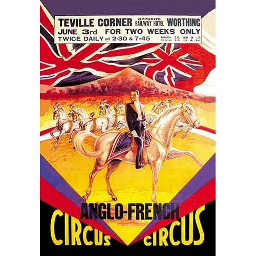 Anglo-French Circus (Framed Poster)