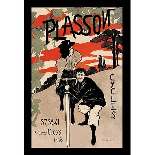Plasson Cycles (Canvas Art)
