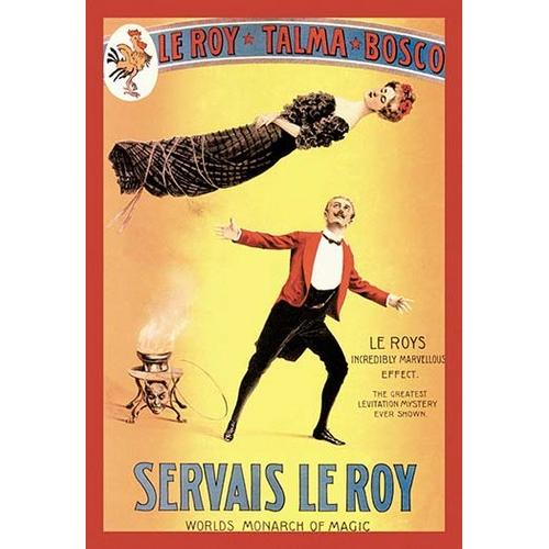 Servais LeRoy: World's Monarch of Magic (Framed Poster)