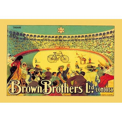 Brown Brothers Bicycles (Fine Art Giclee)