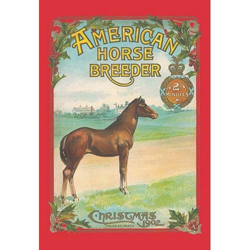 American Horse Breeder, Christmas 1902 (Canvas Art)
