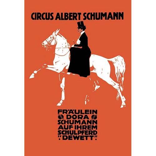 Circus Albert Schumann (Paper Poster)