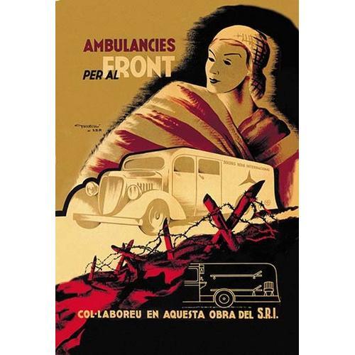 Ambulancies per al Front (Paper Poster)