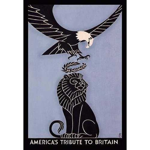 America's Tribute to Britain (Canvas Art)