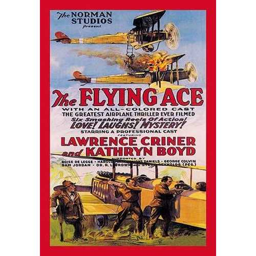 Flying Ace Movie Poster (Paper Poster)