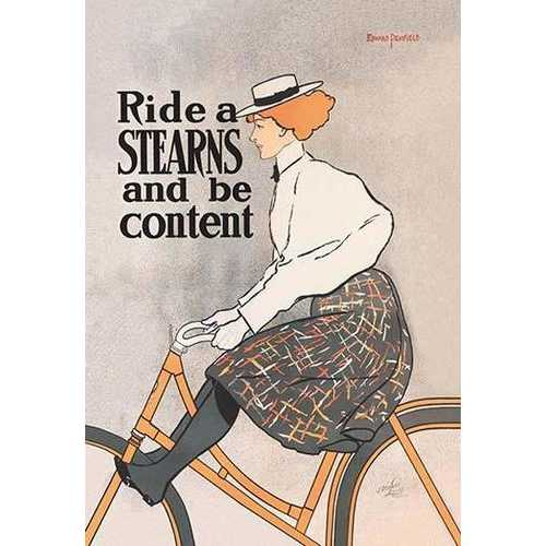 Ride a Stearns and Be Content (Framed Poster)