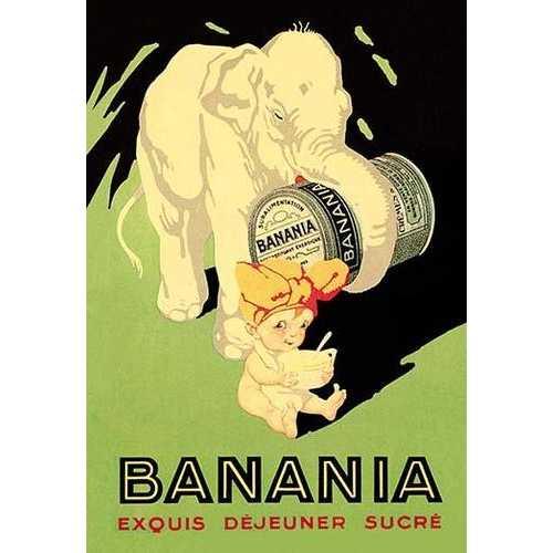 Banani Exquis Dejeuner Sucre (Canvas Art)