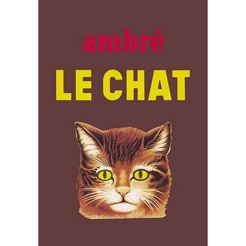 Ambre Le Chat (Canvas Art)