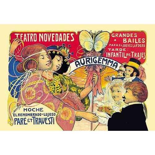 Teatro Novedades Aurigemma (Fine Art Giclee)