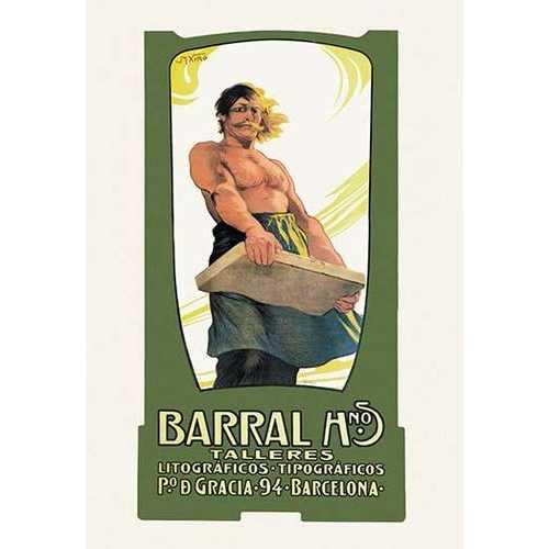 Barro Hnos. Talleres Lithograficos (Paper Poster)