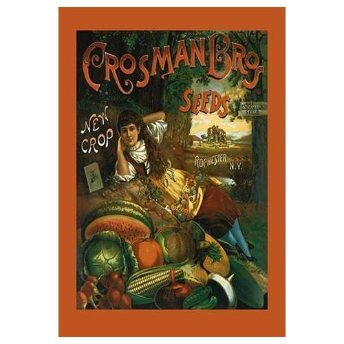 Crosman Brothers Seeds: New Crop (Paper Poster)