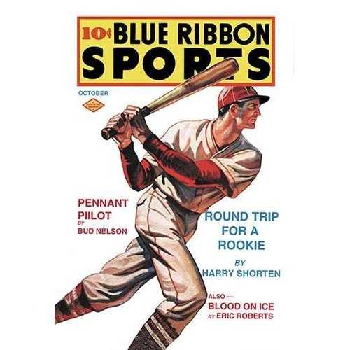 Blue Ribbon Sports: Round Trip for a Rookie (Canvas Art)