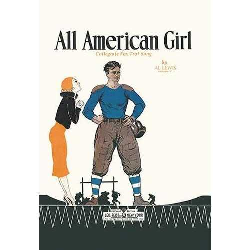 All American Girl (Canvas Art)
