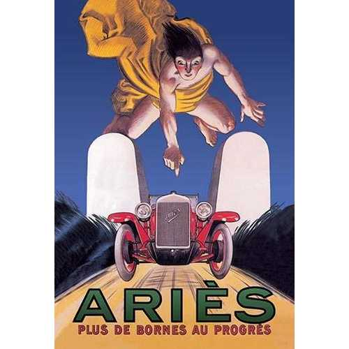 Aries (Canvas Art)