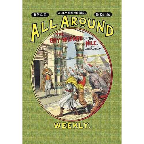 All Around Weekly: The Big Boy Wizard of the Nile (Paper Poster)