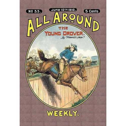 All Around Weekly: Young Drover (Paper Poster)
