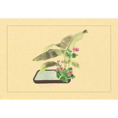 Banana and Varecinium Firtum (Paper Poster)